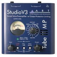 ART Tube MP Studio V3 - Компактный ламповый микрофонный и линейный предусилитель