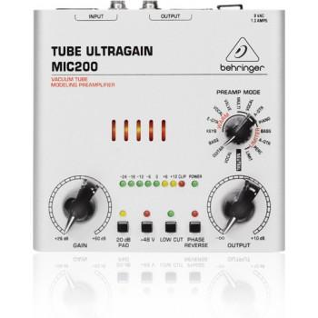 Behringer MIC200 - микрофонный предусилитель