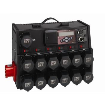 ETC SmartModule 2 CE, 6 x 2.3kW, Dual Schuko conn. мобильный диммерный блок