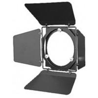 ETC Fresnel Barndoor, Short, Black CE кашетирующие шторки для прожекторов Source Four Fresnel