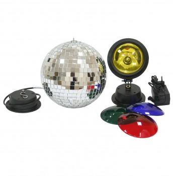 MIRROR BALL SET 20  - набор с зеркальным шаром