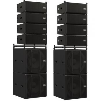 Линейный массив Odin Audiosystems by DAP - 12,4 кВт RMS