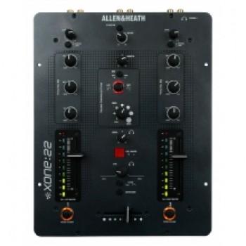 ALLEN & HEATH XONE:22 двухканальный DJ-микшер.