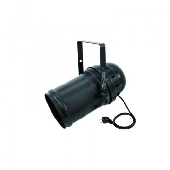 EUROLITE LED PAR-64 TCL 18x3W Long black LED прожектор типа PAR