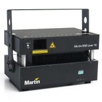 Martin RGB Laser 1.6W in Flightcase. Лазер