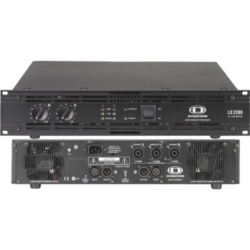DYNACORD LX 2200 - усилитель мощности, Class-H, 2 x 1100 Вт