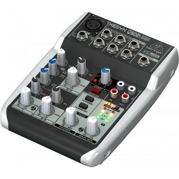Behringer Q502USB аналоговый микшерный пульт