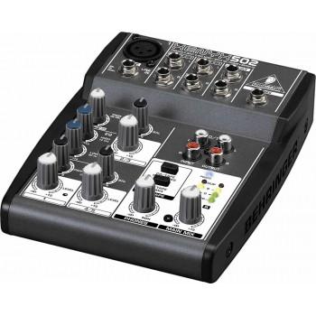 BEHRINGER 502 аналоговый микшерный пульт