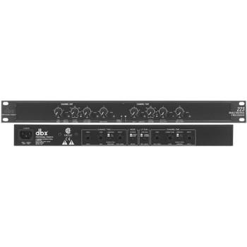 DBX 223-EU Кроссовер 2 полосы стерео, 3 полосы моно