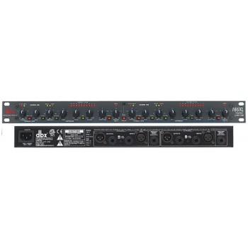 DBX 166XL-EU Двухканальный компрессор / лимитер / экспандер / ге