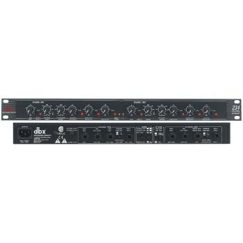 DBX 234-EU Кроссовер 3 полосы стерео, 4 полосы моно