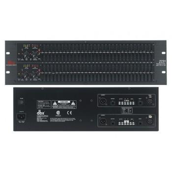 DBX 2231-EU Двухканальный 1/3 октавный графический эквалайзер