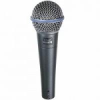 Shure BETA58A - суперкардиоидный вокальный микрофон
