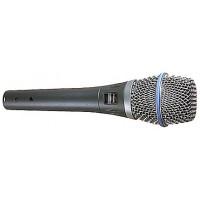 Shure BETA87A - конденсаторный суперкард. вокальный микрофон