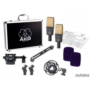 AKG C414B-XLII/ST подобранная стереопара микрофонов C414B-XLII