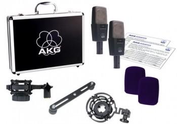 AKG C414B-XLS/ST микрофоны: стерео пара из двух C414-XLS