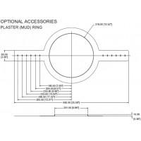 Tannoy CMS601/CVS6 монтажное кольцо для потолочных громкоговорителей