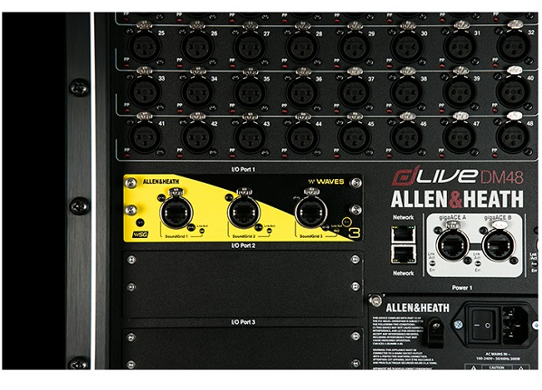 ALLEN & HEATH DLIVE-M-DL-WAVES-V3
